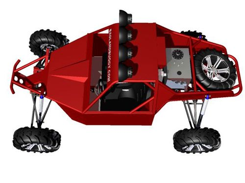 ST4 Two Seat Desert Buggy Plans | Badland Buggy