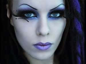 Dark/Goth Fairy makeup