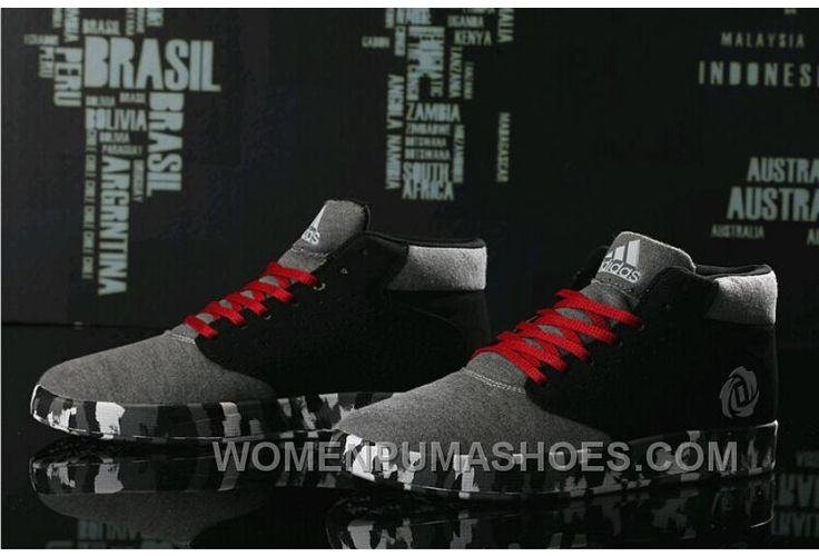 http://www.womenpumashoes.com/adidas-high-top-men-grey-black-for-sale-hzsh7.html ADIDAS HIGH TOP MEN GREY BLACK FOR SALE HZSH7 Only $74.00 , Free Shipping!