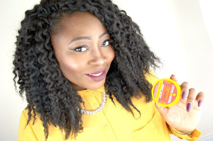 NEW CREME OF NATURE ARGAN OIL PERFECT EDGES GEL REVIEW ON NATURAL HAIR