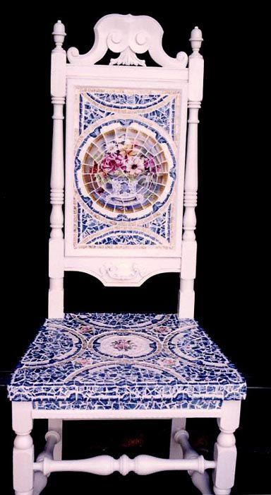 Maravilloso mosaico.  Me gusta!!!!