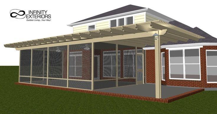 Pergola Screened Porches | Home Design Aluminum Landscape ...
