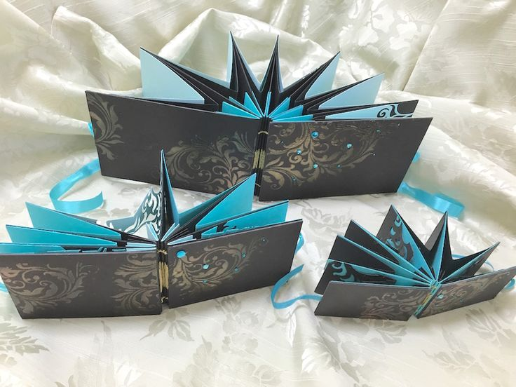 #starbook #swarovski  #blue #black #bookbinding #Tim Holtz