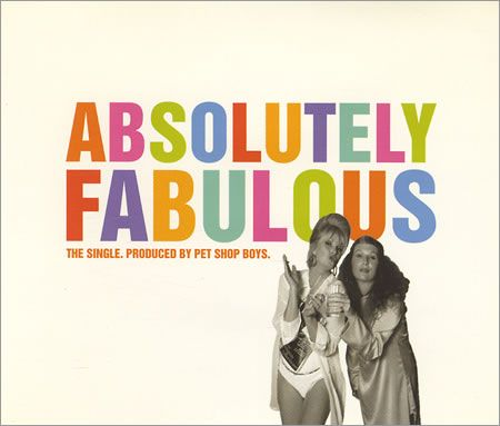 Absolutely Fabulous charity single, Pet Shop Boys and Absolutely Fabulous cast