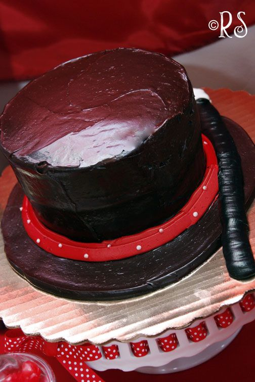 Magician Hat cake..but I would probably have it upside down with a rabbit peeking out ;)