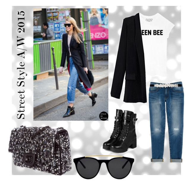 """""""Street Style A/W 2015"""" by doubleblonded on Polyvore featuring yeswalker, Queen Bee, Rebecca Minkoff, City Chic, Smoke & Mirrors and Chanel"""