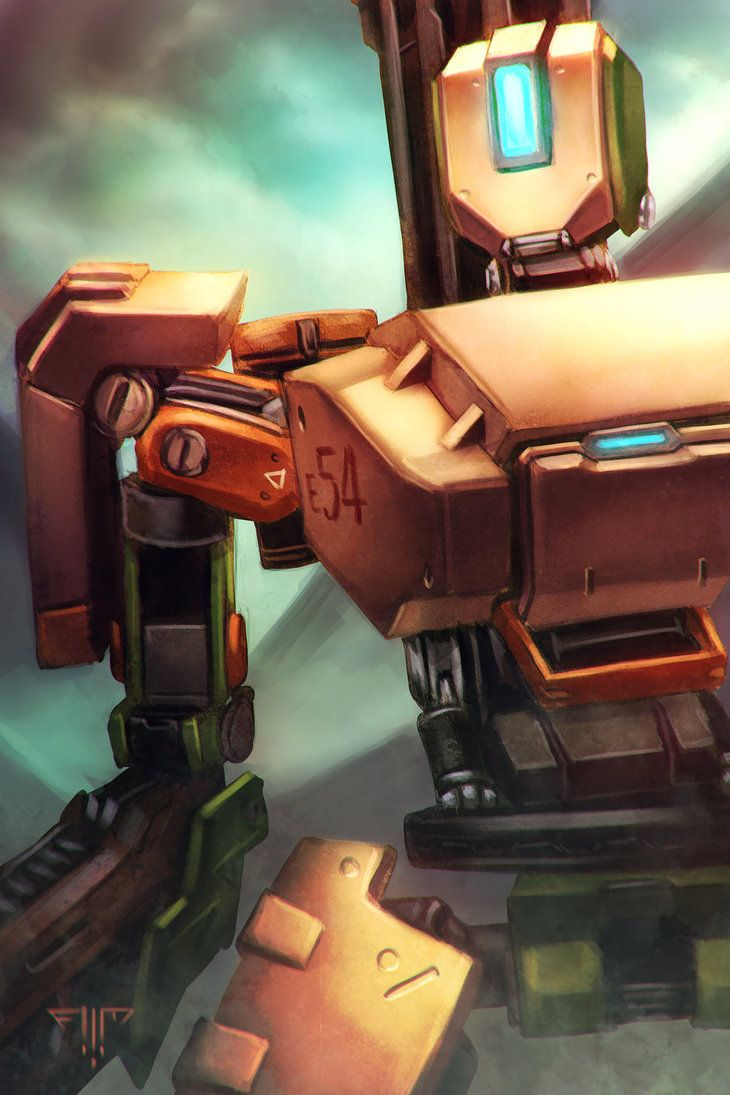 Overwatch - Bastion by AIM-art