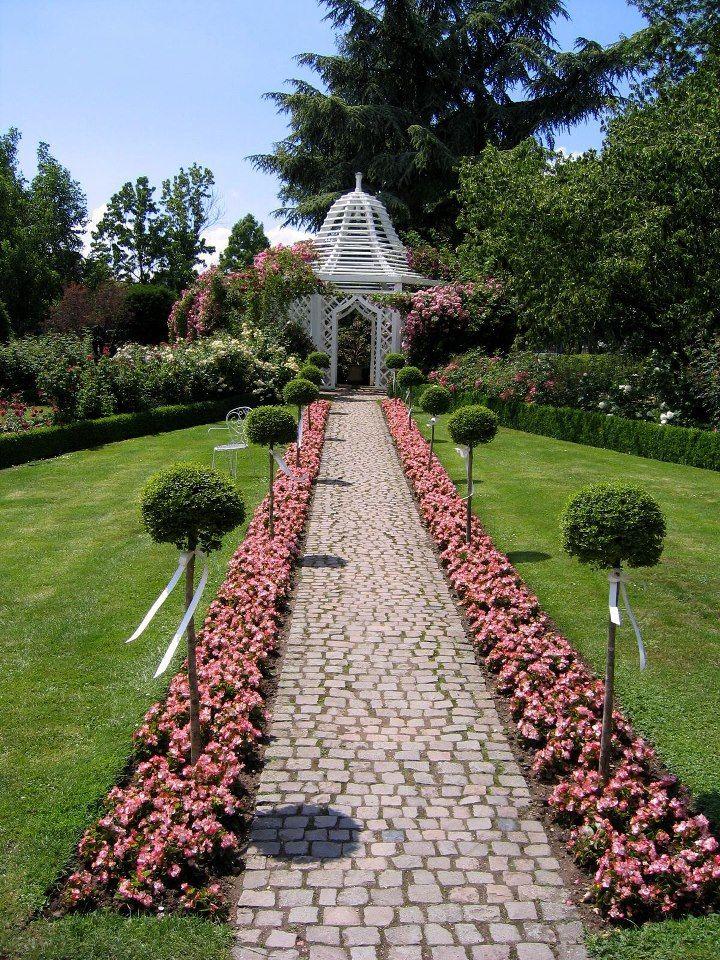 Perfect Rose garden Rosengarten in Zweibruecken Germany