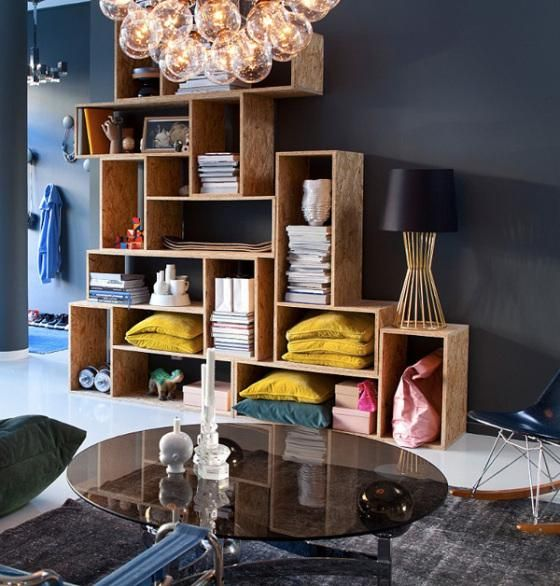 Funky Scandinavian Home / Styling By Dennis Valencia, Photography By Sanna  Lindberg   Via Afflante