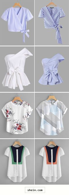 Chic blouses