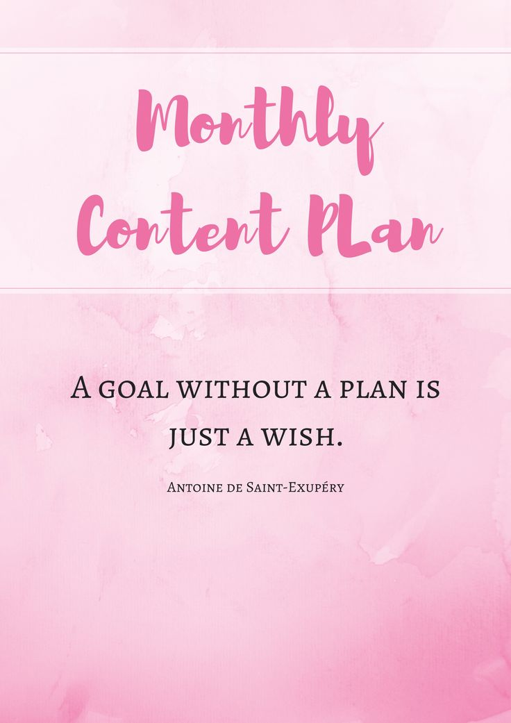A workbook for planning content for your blog. Learn ideas for coming up with endless post topics and some strategies for creating an editorial calendar. Plan to succeed!