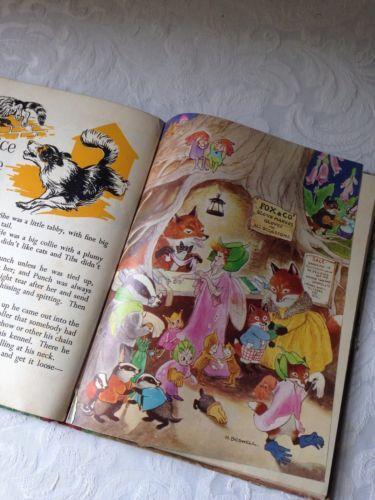 ENID BLYTON. FOXGLOVE STORY BOOK. HILDA BOSWELL ILLUSTRATIONS~fairies & Gollywog
