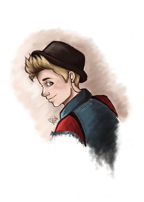 Justin Bieber art (: