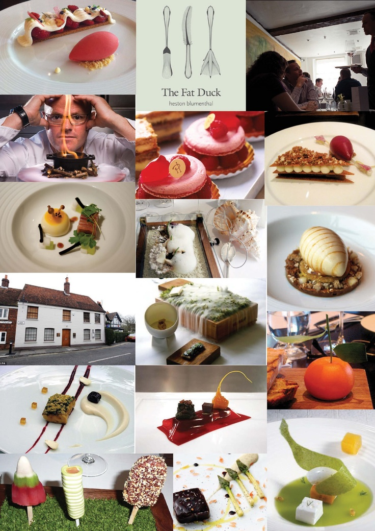 """EAT AT HESTONs RESTAURANT..... Or in his kitchen..... I""""m not fussy!!!!!!!!!!!  Insperation from Heston Blumenthal's restaurant and food."""