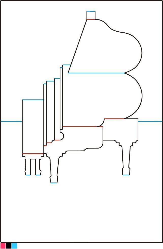 Схемы открыток в 3д, картинки рабочие