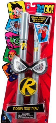 Teen Titans Go Role-play Mask, Staff & Buckle