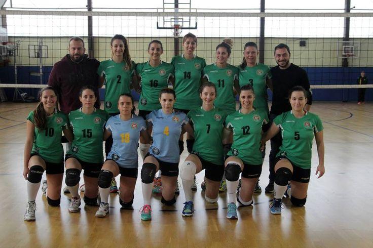 Η σύνθεση της γυναικείας ομάδας βόλεϊ του Γ.Σ. Χαλανδρίου όπως παρατάχθηκε στον αγώνα Γ.Σ. Χαλανδρίου-Α.Σ.Π. Ίωνες  για τη 13η αγωνιστική της Α2 Εθνικής κατηγορίας.
