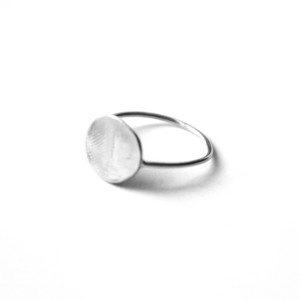 Fingerprint Ring Kit Silver