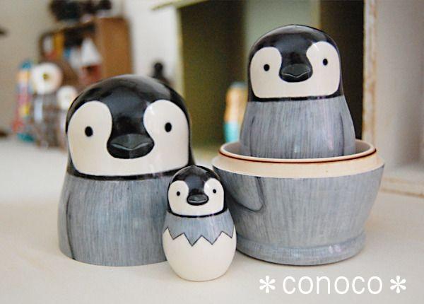 Penguin Nesting Dolls