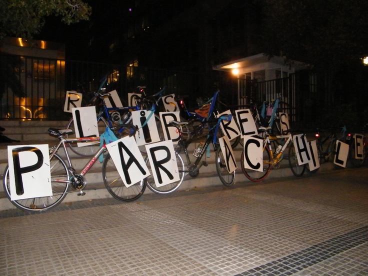 """Cicletada """"Rios Libres para Chile!"""", ciclistas por la patagonia"""