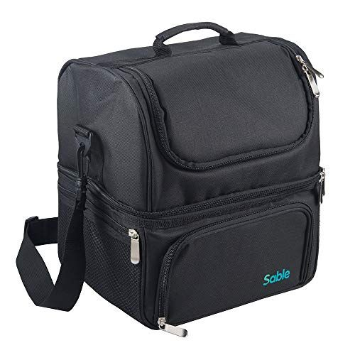 22L Big Capacity Reusable Waterproof FREE Shipping Sable Insulated Lunch Box