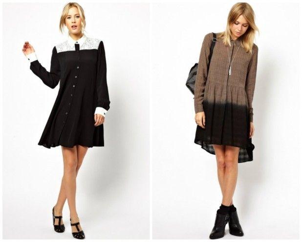 Платье-рубашка - практичный и элегантный наряд на каждый день,платье-рубашки строгого фасона для офиса