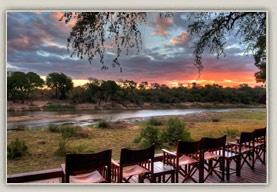 The Deck - Simbavati River Lodge, South Africa