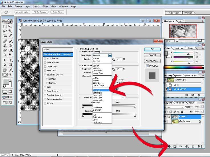 How to Create a Halftone Effect in Adobe Photoshop 7 -- via wikiHow.com