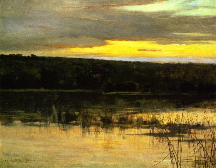 Quiet Shore (Charles Warren Eaton - circa 1885)