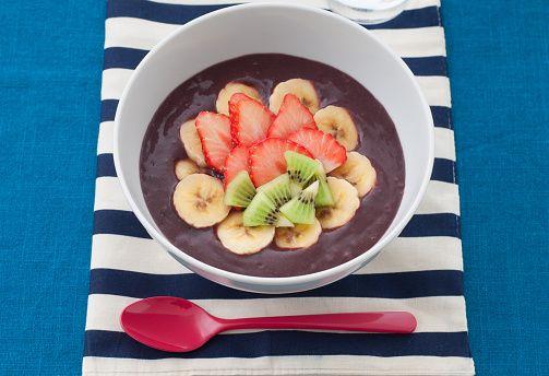 """""""ハワイの絶品朝食なら、この店で決まり♪ アサイボウルをはじめ、一度は食べたいハワイ発祥の料理を朝から食べられる、人気レストラン。"""""""
