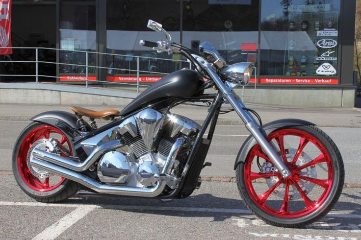 Honda Shadow  Mag Motorcycle Whees