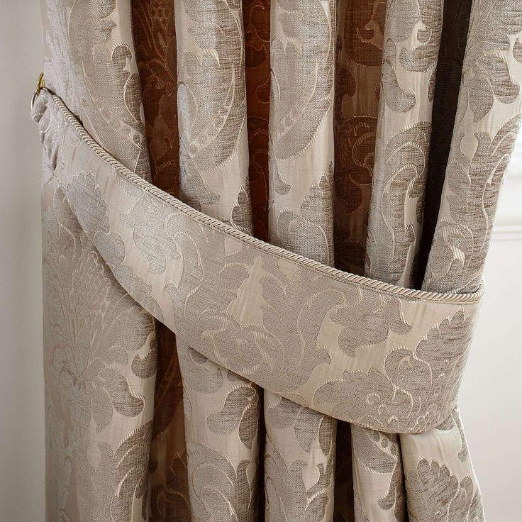 Versailles Natural Pencil Pleat Curtains | Dunelm