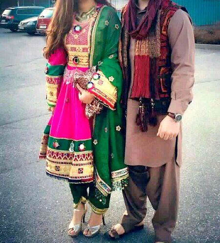 #afghan #style #dress #couple