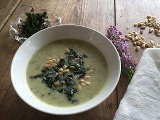Chili og vanilje: Blomkål og grønnkål suppe