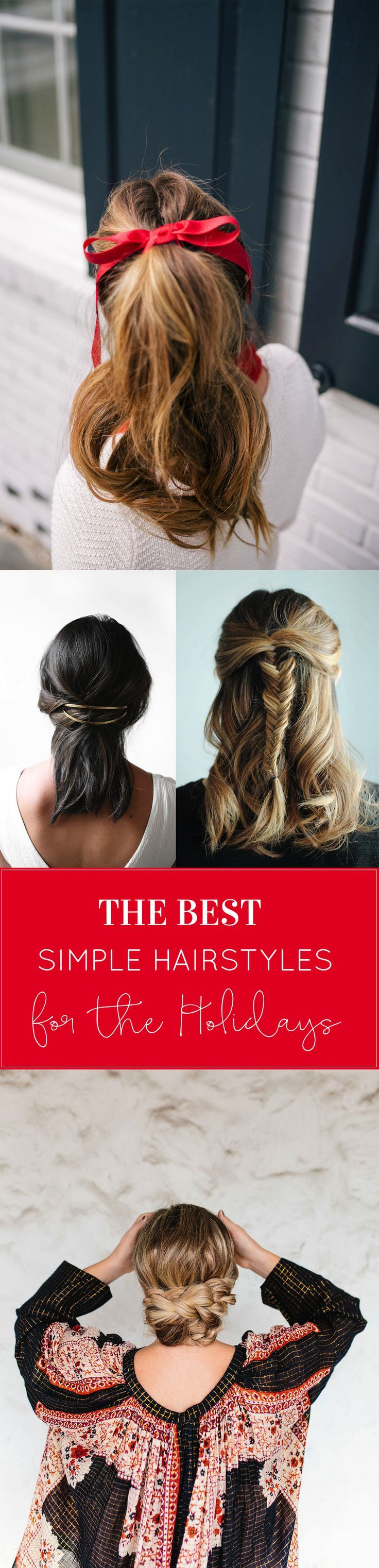 17 best Quick and Cute Hairstyles images on Pinterest