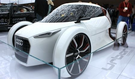 Audi's Urban Concept Electric Car is Insanely Cool Looking