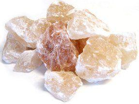 how to break rock salt