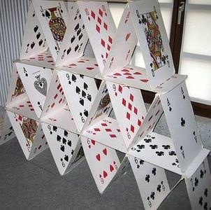 card houses: