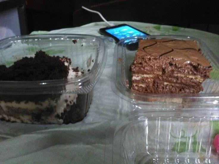 Probamos las tortas de la martorana. #tiramisu  #marquesa Esperaba más de la marquesa  . . #food #postre #torta #Barquisimeto