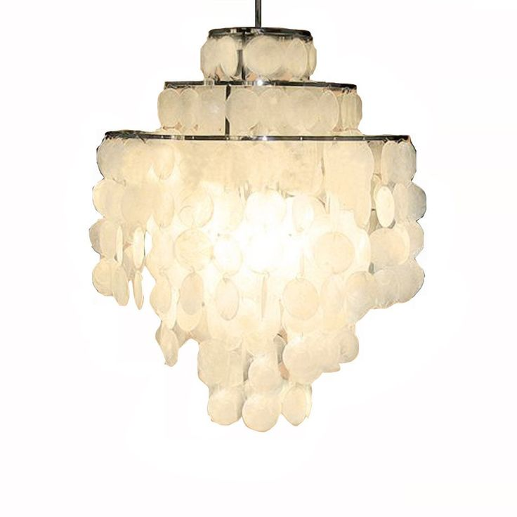 1000+ Ideas About Capiz Shell Chandelier On Pinterest