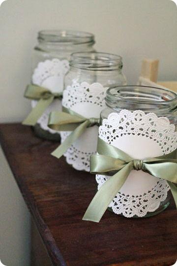 13 Ideas de decoración y manualidades con blondas de papel
