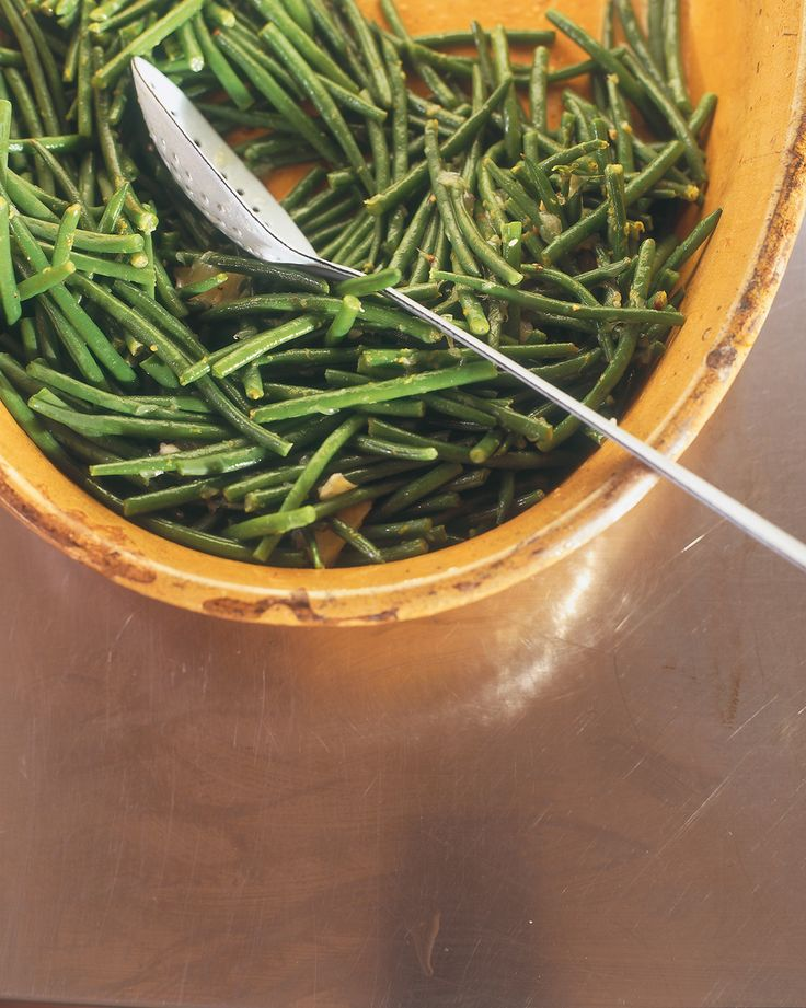 Green Bean and Lemon Casserole