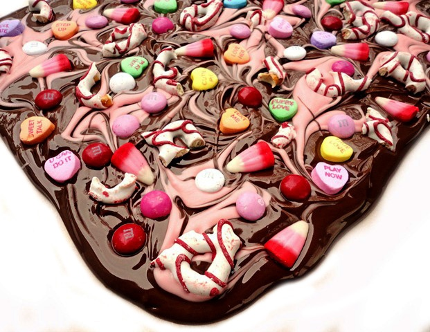 Valentine Candy Bark: Valentines Candy, Candy Ideas, Valentines Day Ideas, Cute Ideas, Valentine'S S, Candy Bark, Valentines Treats, Ideas Valentines, Valentines Bark