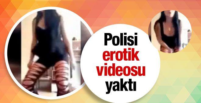 Moscow News'un haberine göre, adının Kristina olduğu öğrenilen 26 yaşındaki kadın polis, aşırı alkol veya uyuşturucu aldıktan sonra siyah bir peruk takıp seksi bir kıyafet giyerek video kameranın karşısına geçti.