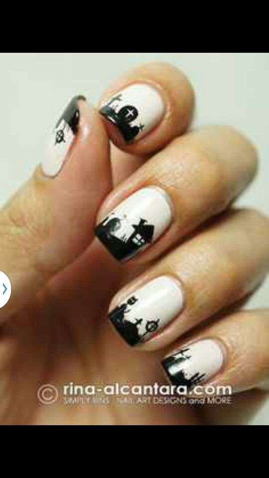 14 best nail art images on Pinterest | Horror films, Nail arts and ...