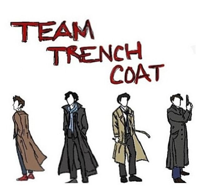 """Ok guys. So today I wore my 'Castiel' trench coat to the zoo. And I was sitting on a bench alone because my parents were at the lion thingy. And then this girl walked past wearing a red plaid shirt over a grey singlet and I said """"Dean?"""" out loud.Louder than I meant to and she just stopped and stared at me and raced in and hugged me and whispered """"Castiel"""" and all I could say was """"why are you squeezing me with your body?"""" and I JUST CANT<<<< this omg XD<<<<OMG THIS COMMENT!!"""