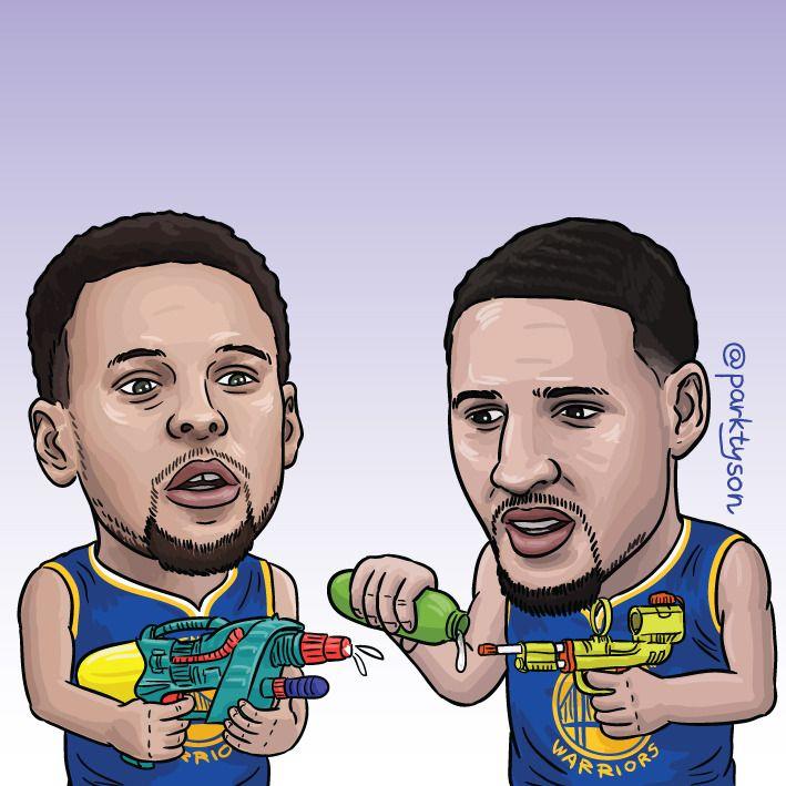 Pin by Cara Tiu on NBA in 2020 Nba warriors, Funny