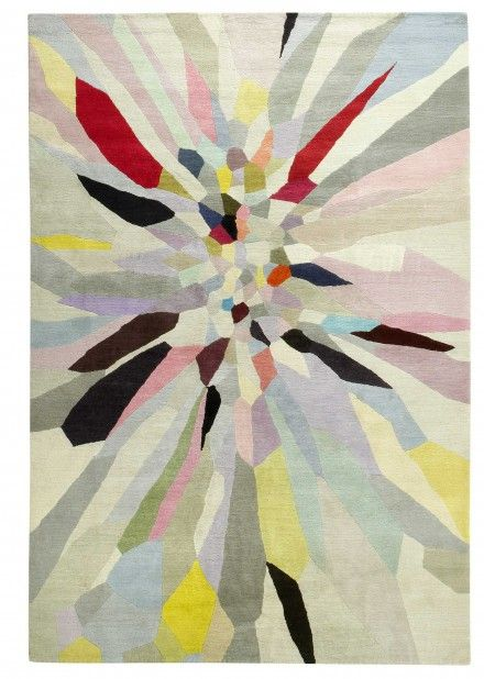 Zap by Fiona Curran for The Rug Company - but really....almost 20k to drop on a rug? i wish.