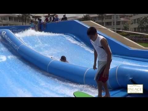 FLOW RIDER,,super caidas    divercion en MOON PALACE  cancun Quintana,roo