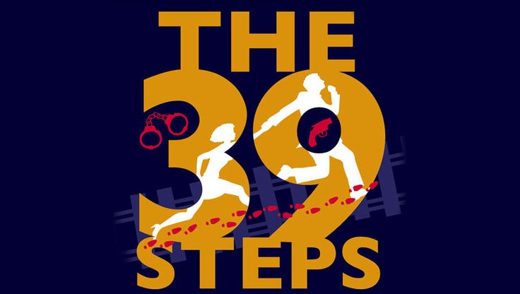 * Hitchcock Thriller The 39 Steps Reimagined as Madcap Comedy, $11 - Save 50%